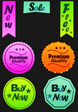 Color vector sales labels