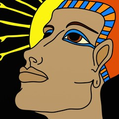 testa di faraone