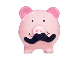 Movember piggy bank