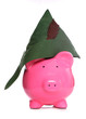 robin hood piggy bank