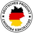 """Patch """" Deutsches Produkt """""""