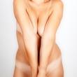erotische nackte frau