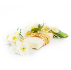 Jasmin soap for spa and relax