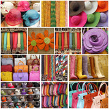 colorful women accessories