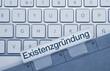 Existenzgründung Tastatur