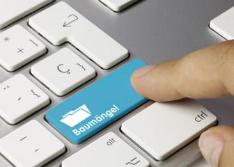 Baumängel Tastatur finger