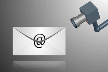 E-mail spy