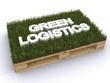 Holzpalette Green Logistics