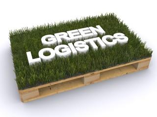Holzpalette Green Logistics
