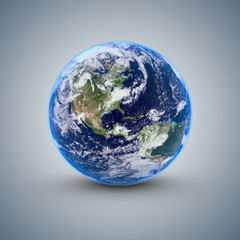 Earth on backgroud