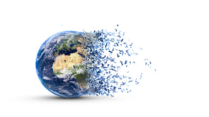 Fragmented earth
