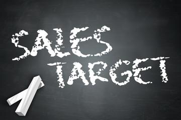 """Blackboard """"Sales Target"""""""