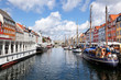 Nyhavn, zentraler Hafen in Kopenhagen