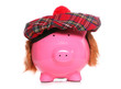 scottish piggy bank