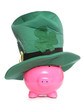 Piggy bank st patricks day