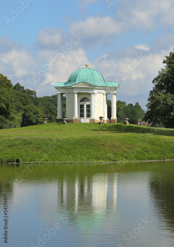 Karlsaue Park - Domed Temple on Swan Island