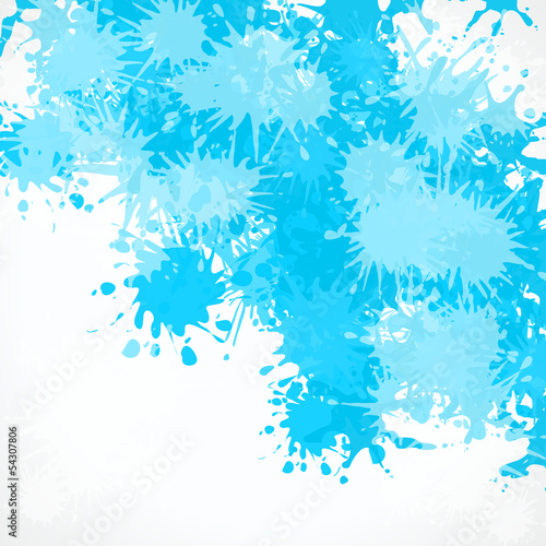 Abstract artistic splash vector background