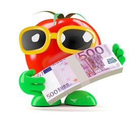 Tomato has Euros