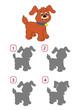 gioco, ombra del cane