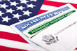 Social security and permanent resident card - 54310819