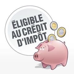 Tirelire - Economies - Eligible au Crédit d'impôt