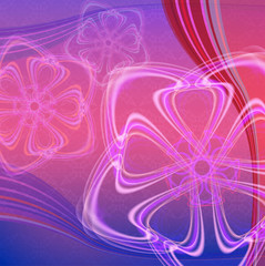Abstract pink and violet vector background