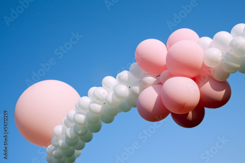 ballons at children party