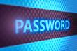 Password digital screen