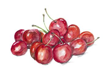Magic ripe cherry