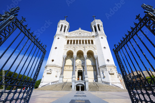 Fourviere basilica in Lyon