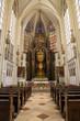 Vienna - Presbytery and main altar of church Maria am Gestade