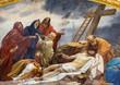 Vienna - Fresco of Deposition of the corss - Schottenkirche