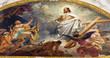 Vienna - Fresco of Resurrected Jesus in heaven