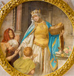 Vienna - Paint of st.Elizabeth of Hungary
