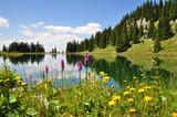 Fototapety Gebirgssee in Österreich