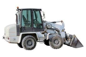 Tracteur chargeur à roues