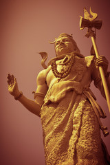 Statue of Lord Shiva in Haridwar, India