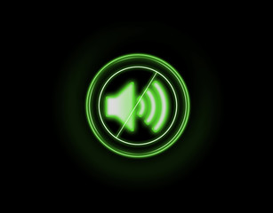 Кнопка отключить звук