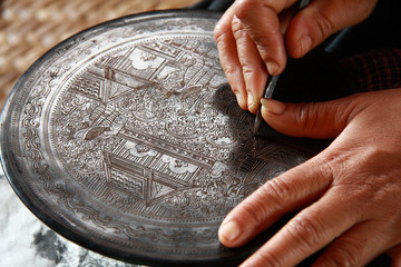 Traditional handicraft Myanmar