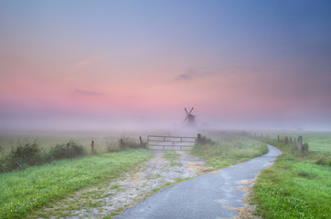 a way to windmill in fog