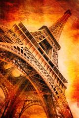 gravure tour Eiffel