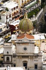 Positano church, italy