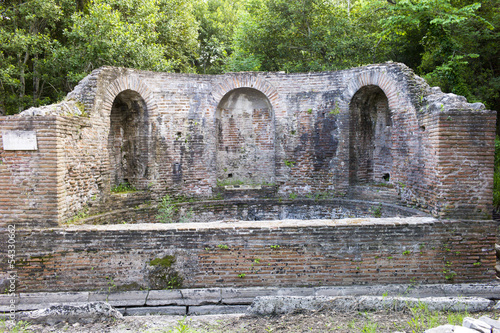 Nymphaeum in Butrint