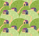 Village landscape pattern