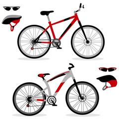 Set of bicycle