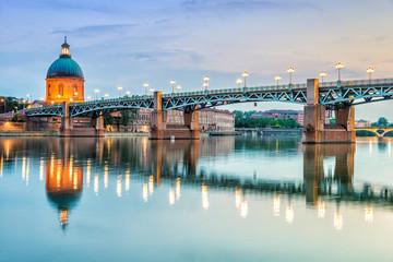 Toulouse - Hôpital de La Grave et Pont Saint-Pierre