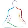 Yoga - Lotussitz - Esoterik - Logo