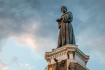Poet Andrija Kacic-Miosic Monument in Makarska, Dalmatia, Croati