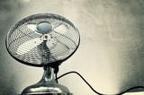 Fototapety Vintage steel fan