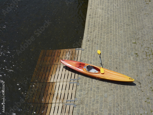 Un kayak
